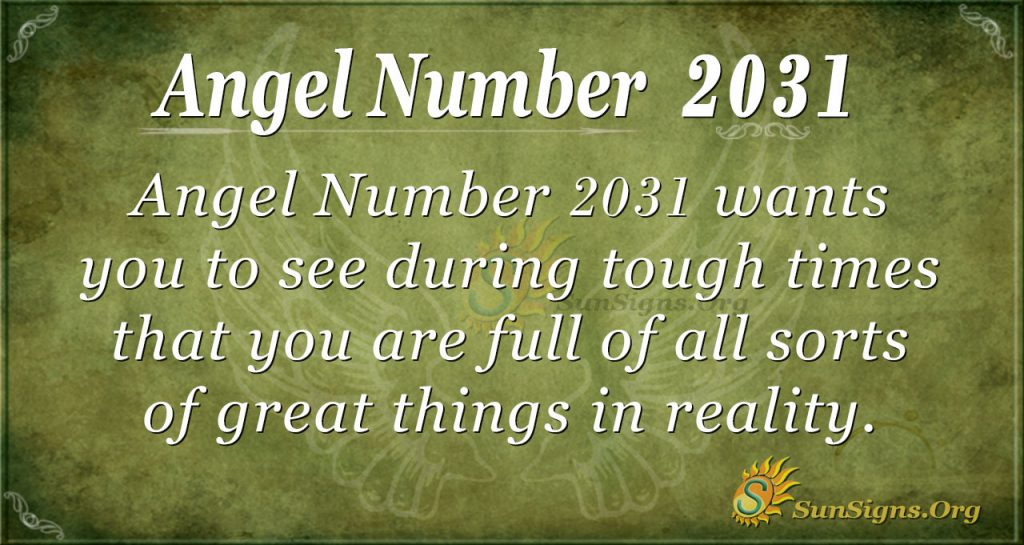 Angel Number 2031