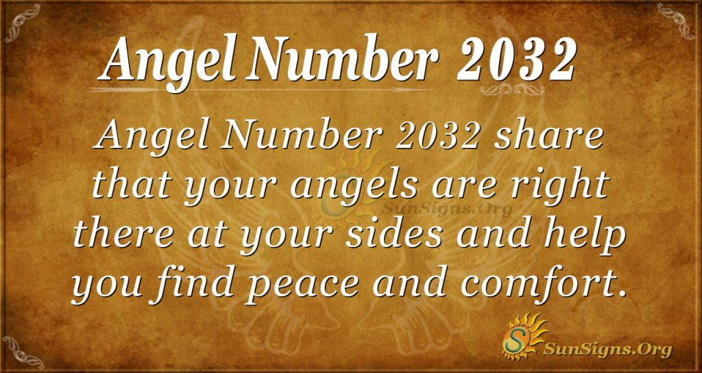 Angel Number 2032