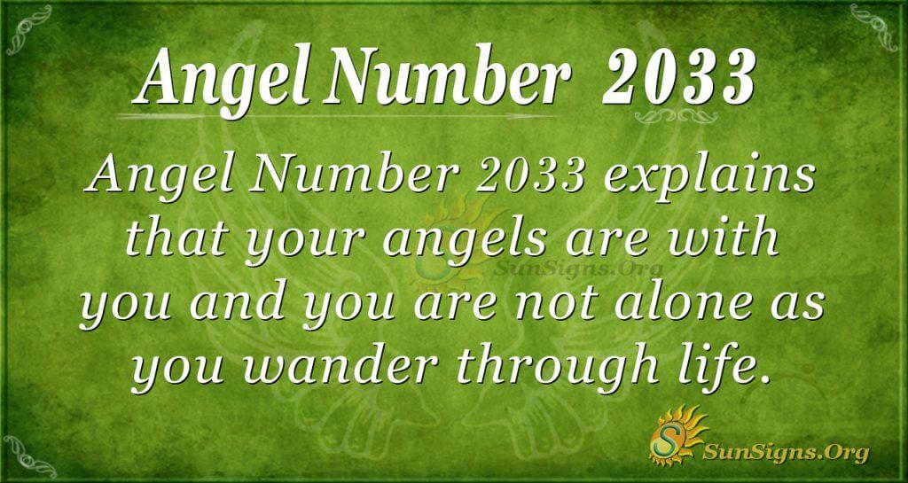 Angel Number 2033