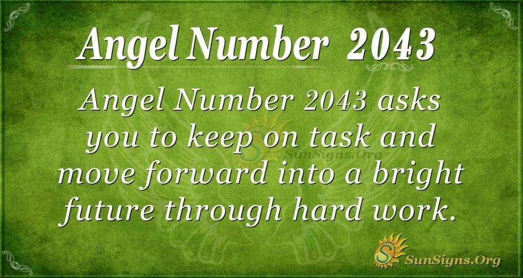 Angel Number 2043