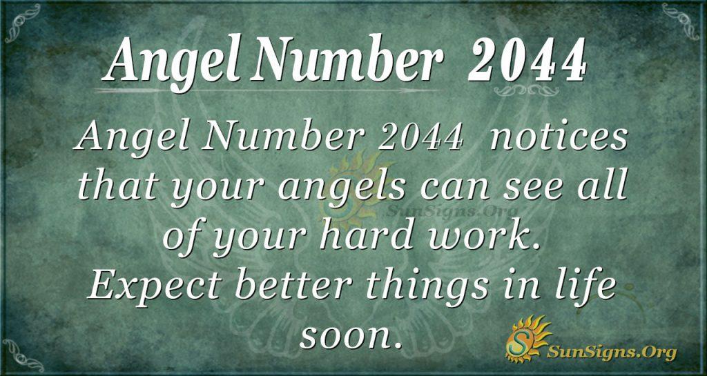 Angel Number2044