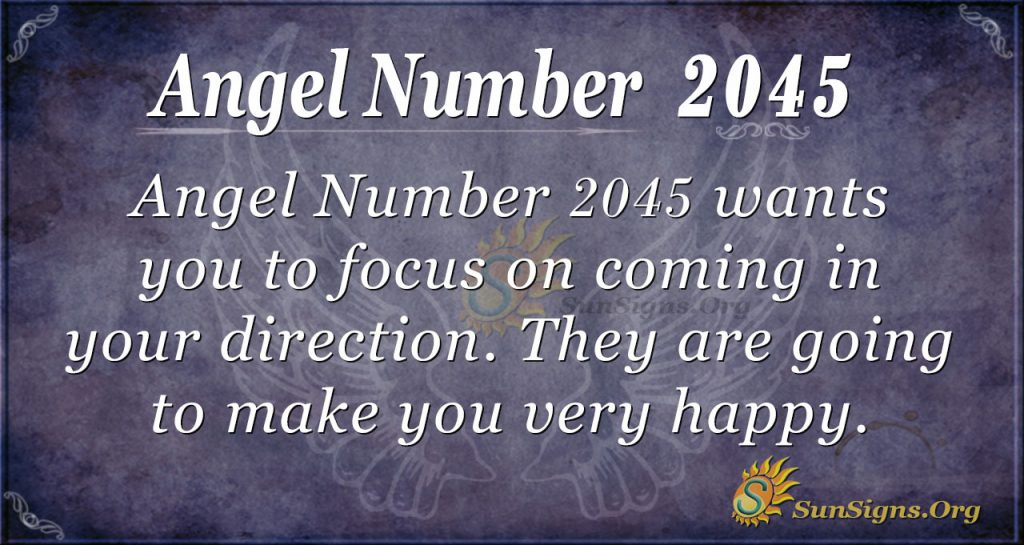 Angel Number 2045