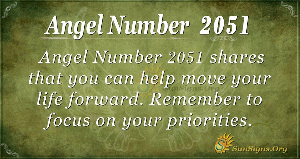 Angel Number 2051