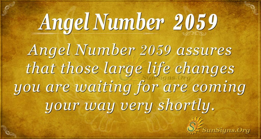 Angel Number 2059