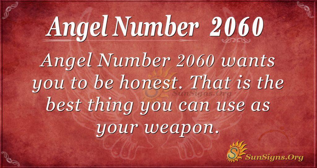Angel Number2060