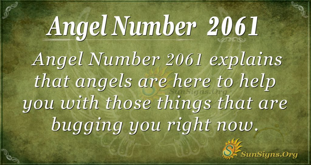 Angel Number 2061
