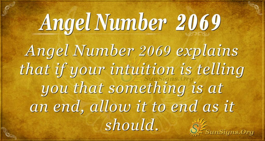 Angel Number 2069