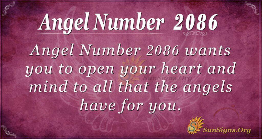 Angel Number 2086