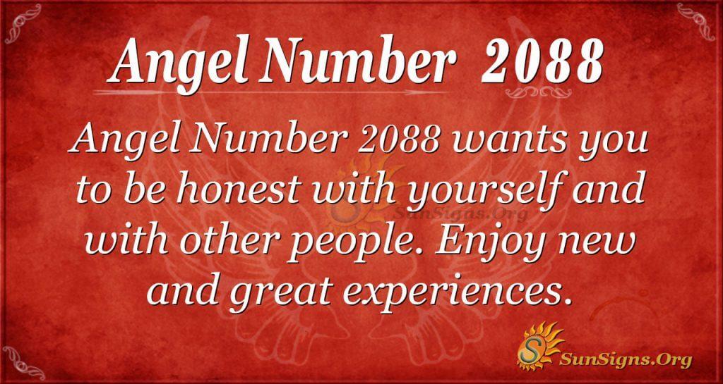 Angel Number 2088