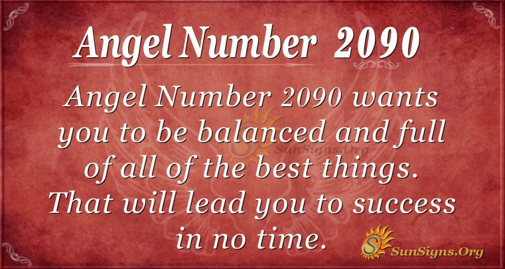 Angel Number 2090