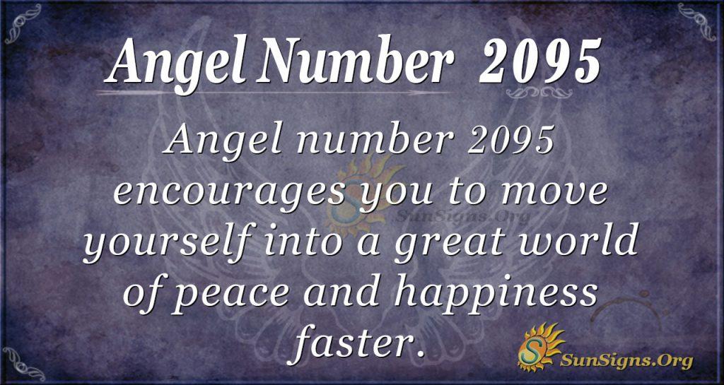 Angel Number 2095
