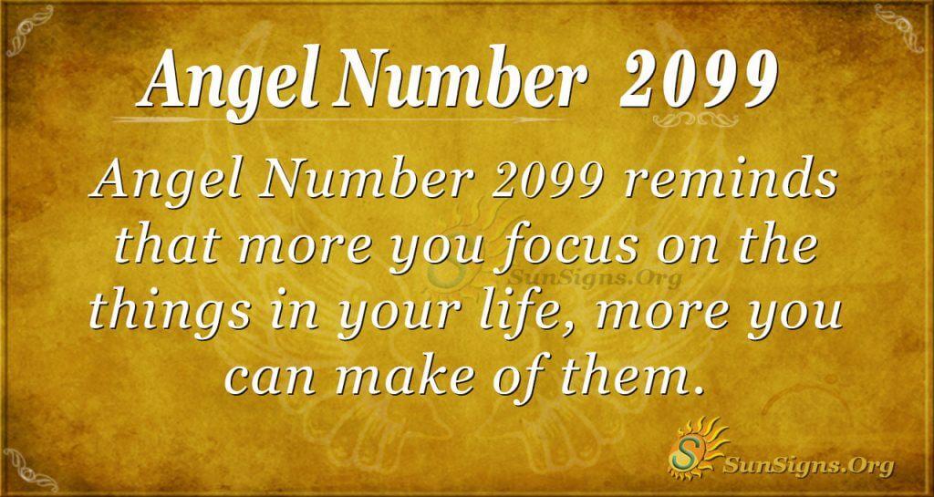 Angel Number 2099