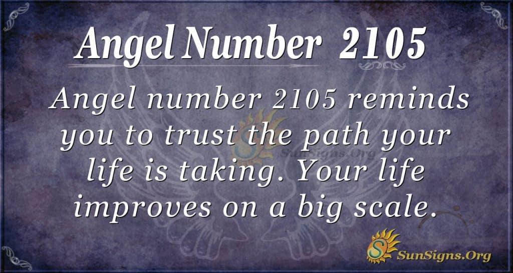Angel Number 2105
