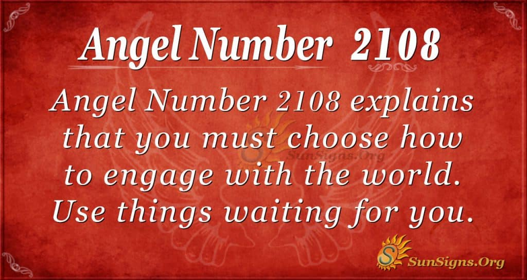 Angel Number 2108
