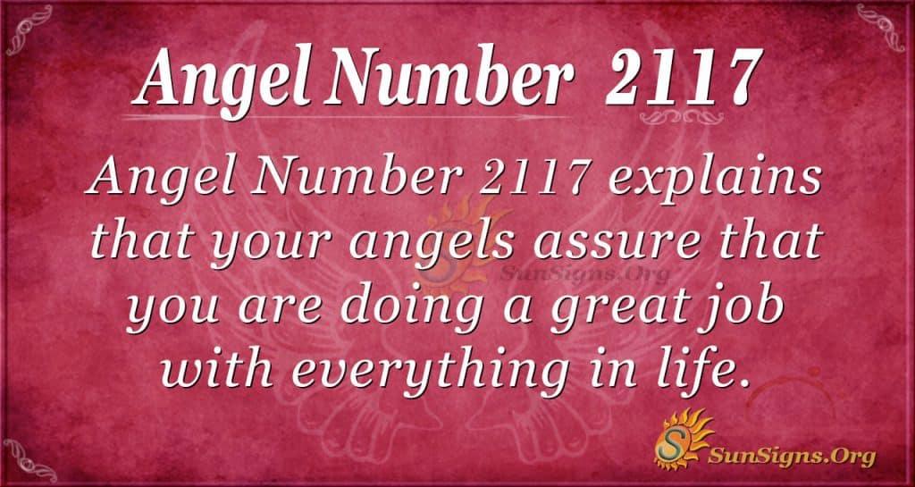 Angel Number 2117