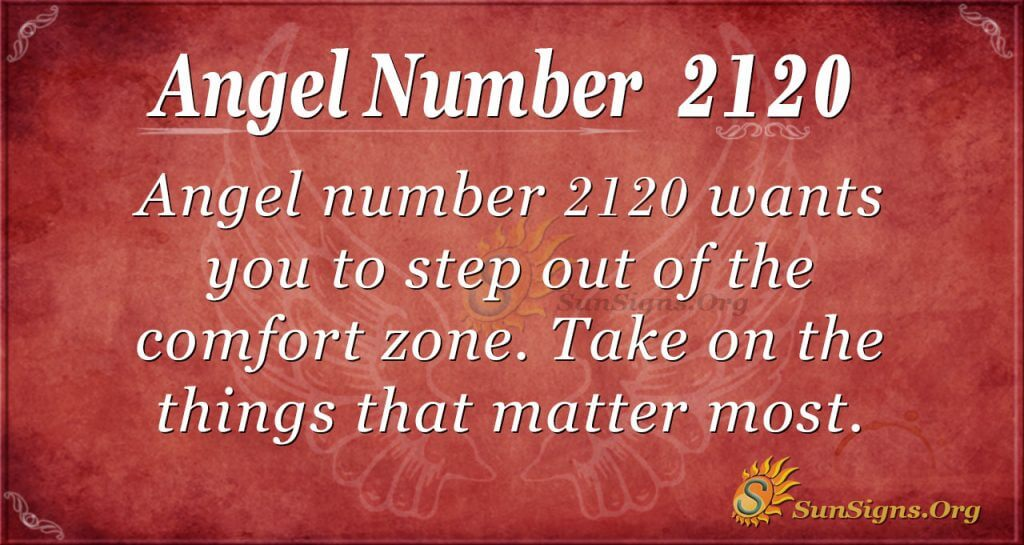 Angel nuber 2120