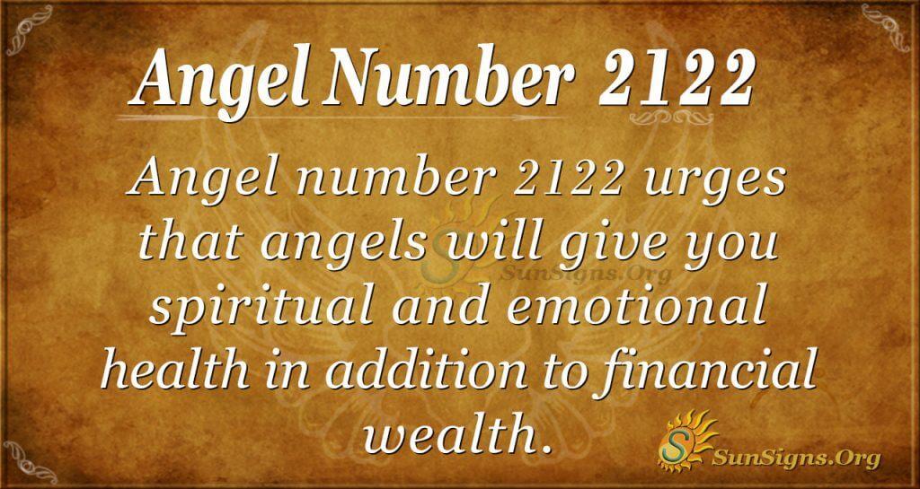 Ange Number 2122