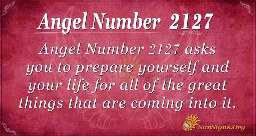 Angel Number 2127