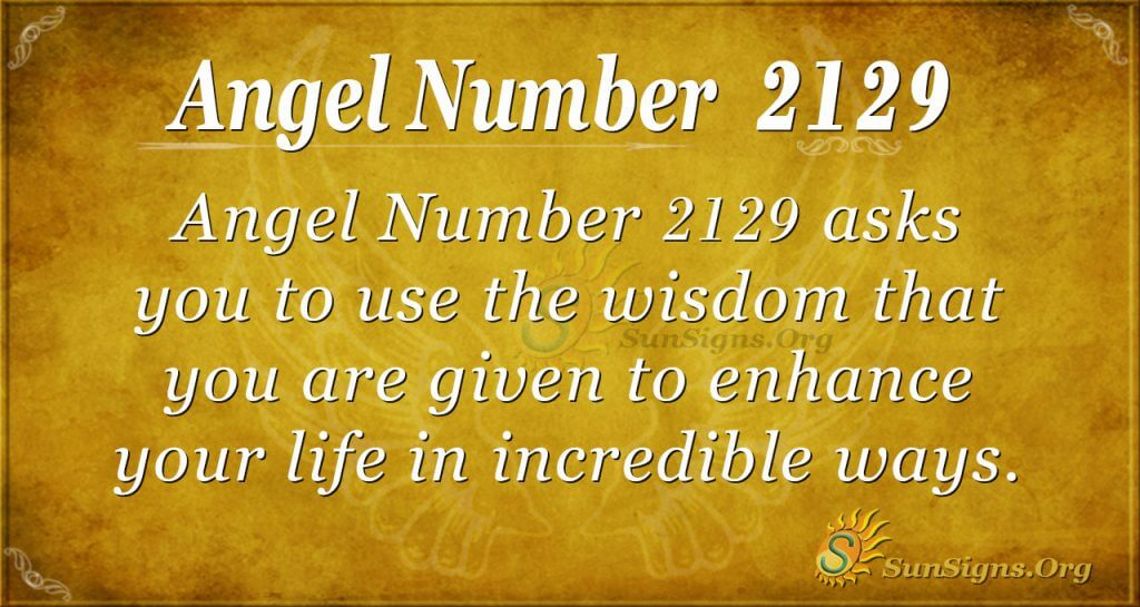 Angel Number 2129