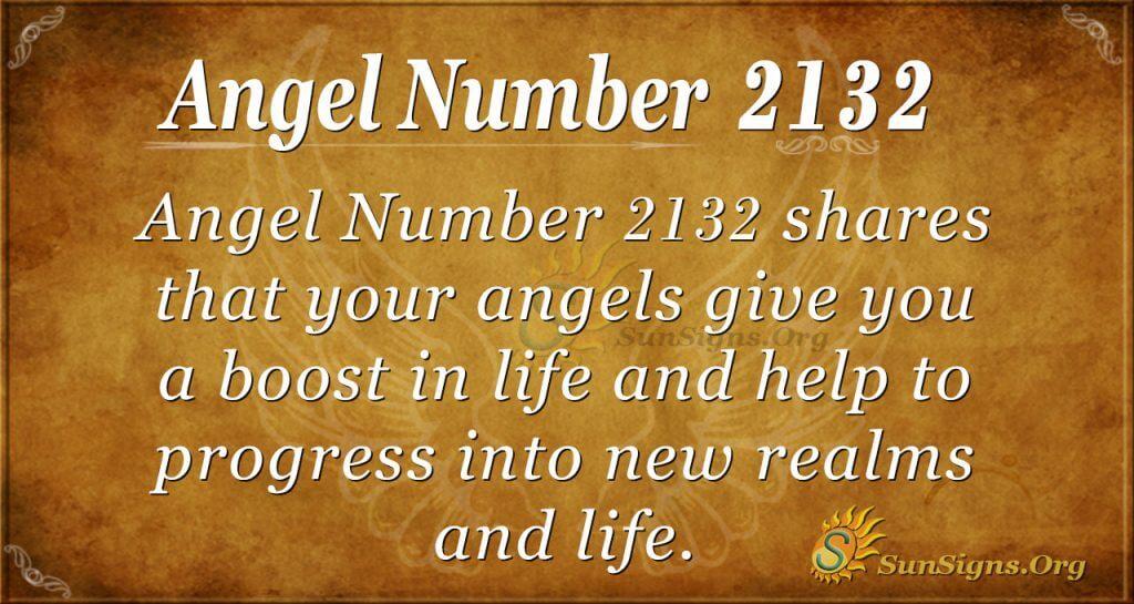 Angel Number 2132