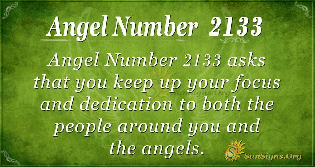 Angel Number 2133