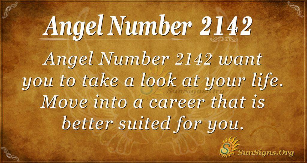 Angel Number 2142