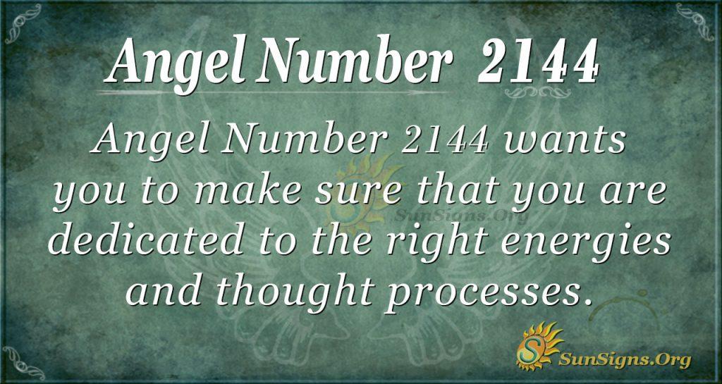 Angel Number2144