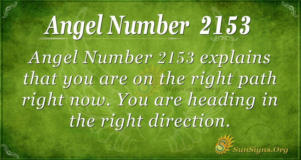 Angel number 2153
