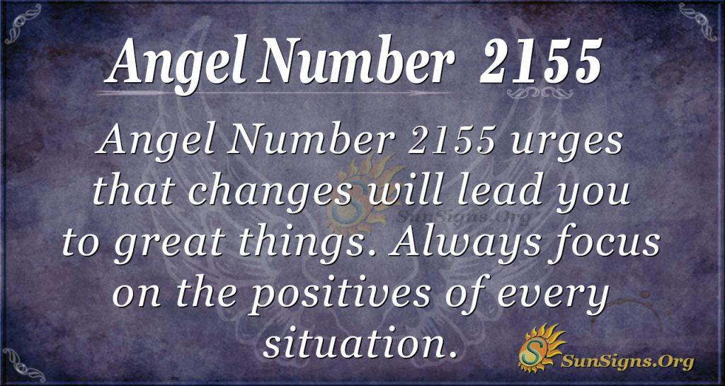 Angel Number 2155