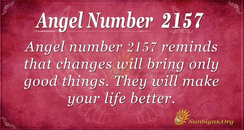 Angel Number2157