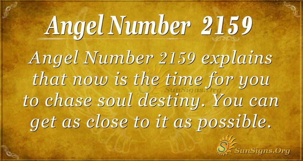 Angel number 2159