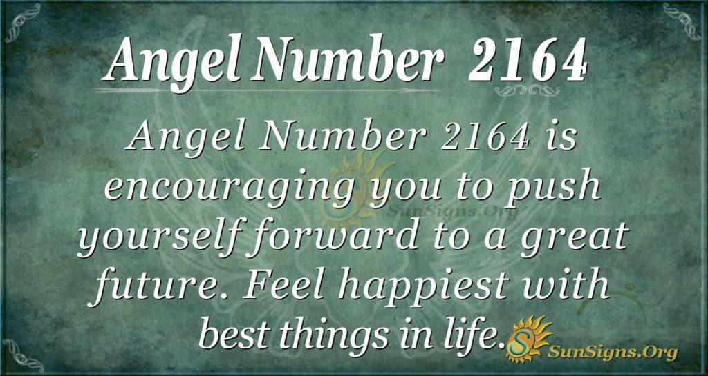 Angel Number 2164
