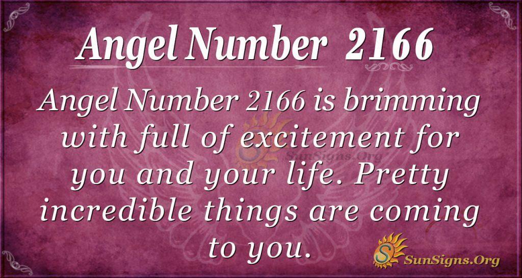 Angel Number 2166