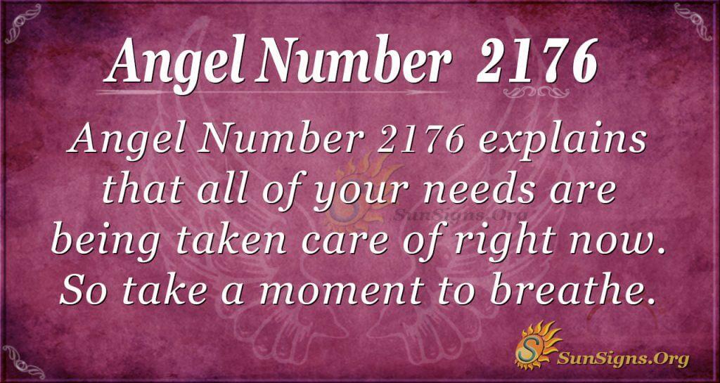 Angel number 2176