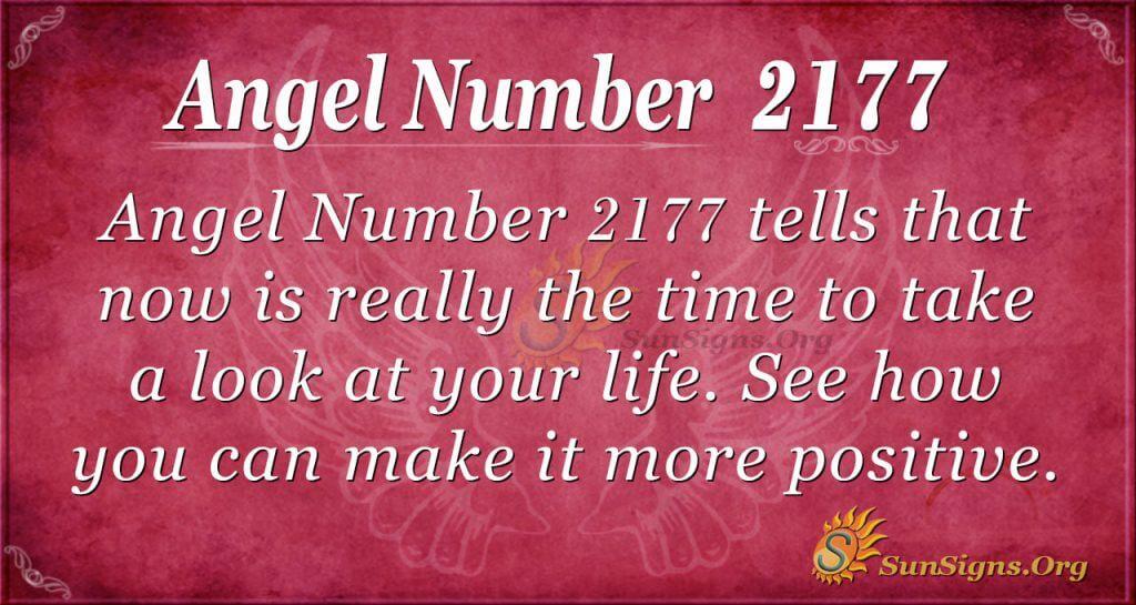 Angel Number 2177