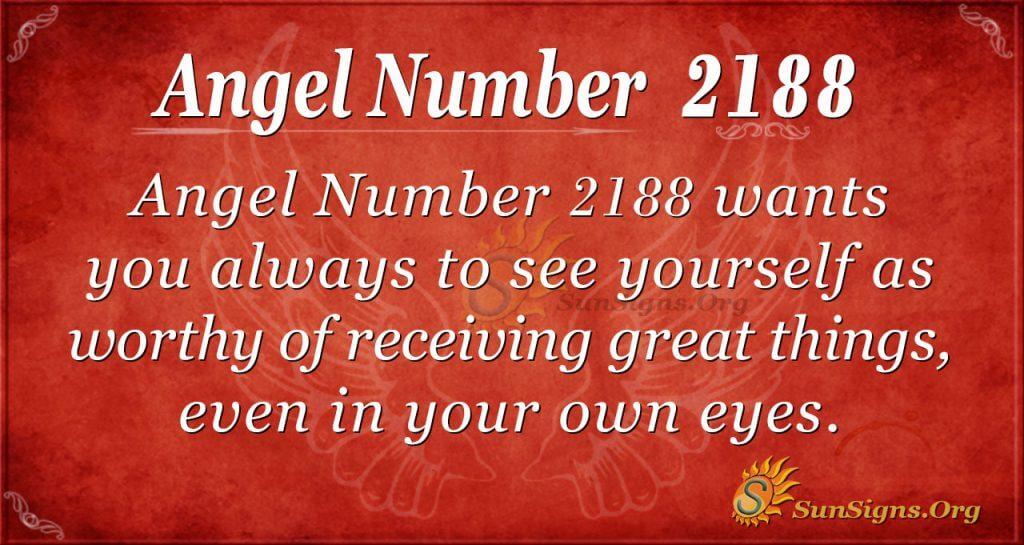 Angel Number 2188