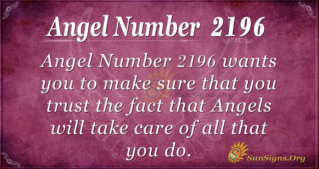 Angel Number2196
