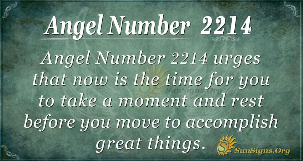 2214 angel number