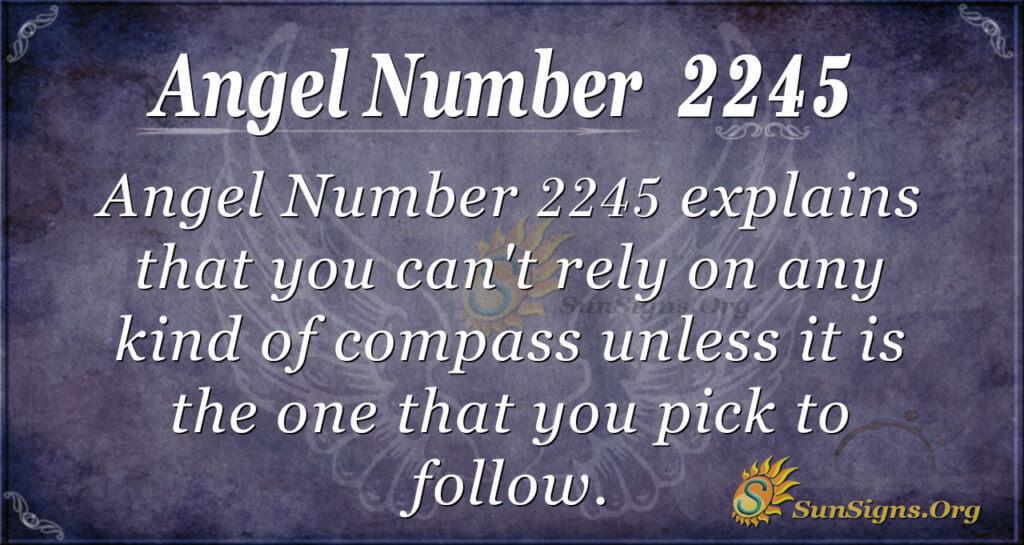 2245 angel number