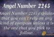 2245 angel number