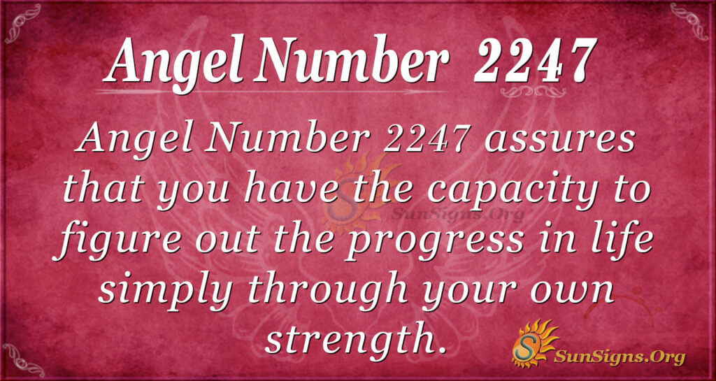 2247 angel number
