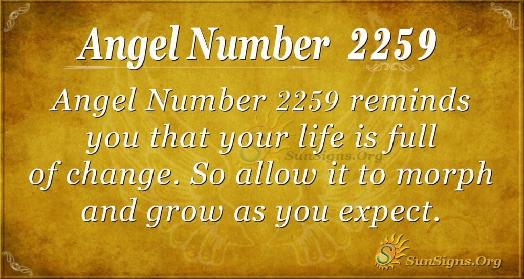 Angel Number 2259