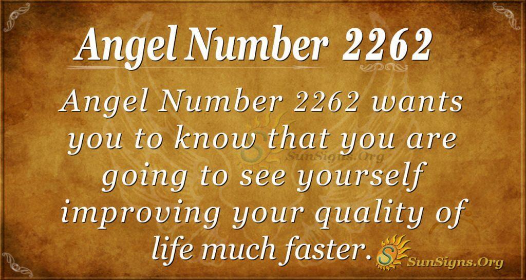 Angel Number 2262