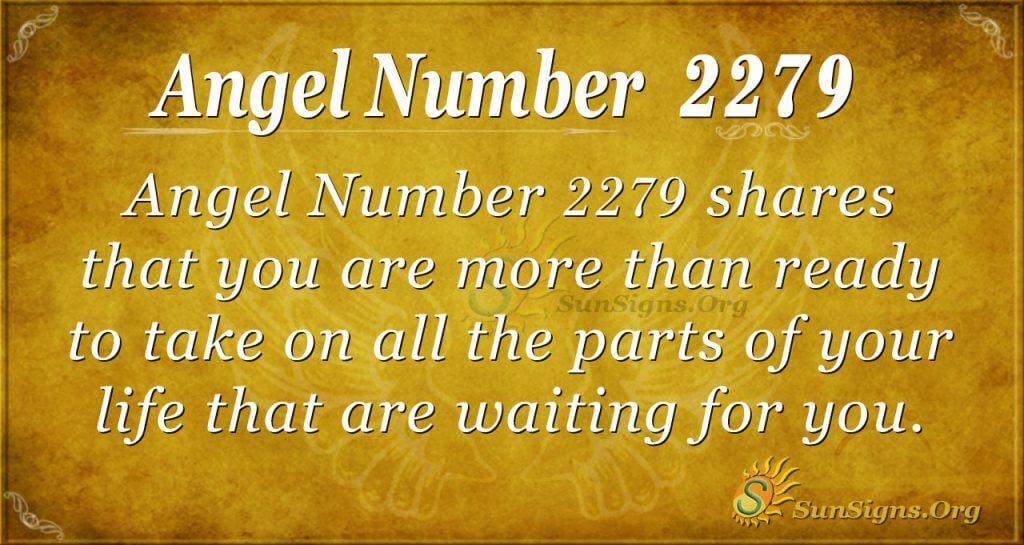 Angel Number 2279