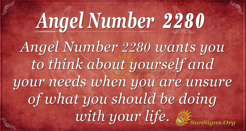 Angel number 2280