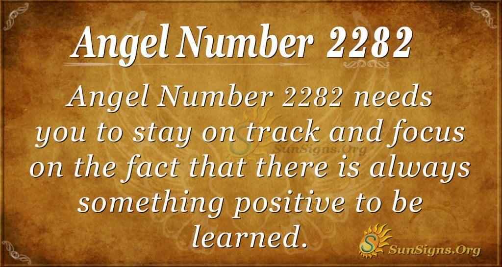 Angel number 2282