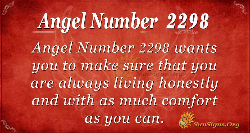 Angel number 2298