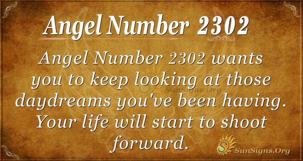 Angel Number 2302