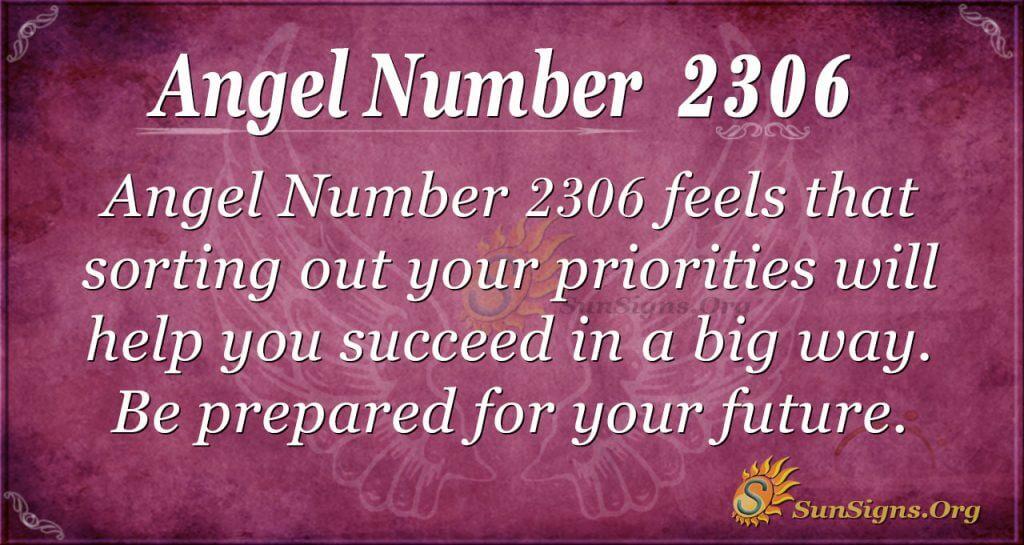 Angel Number 2306