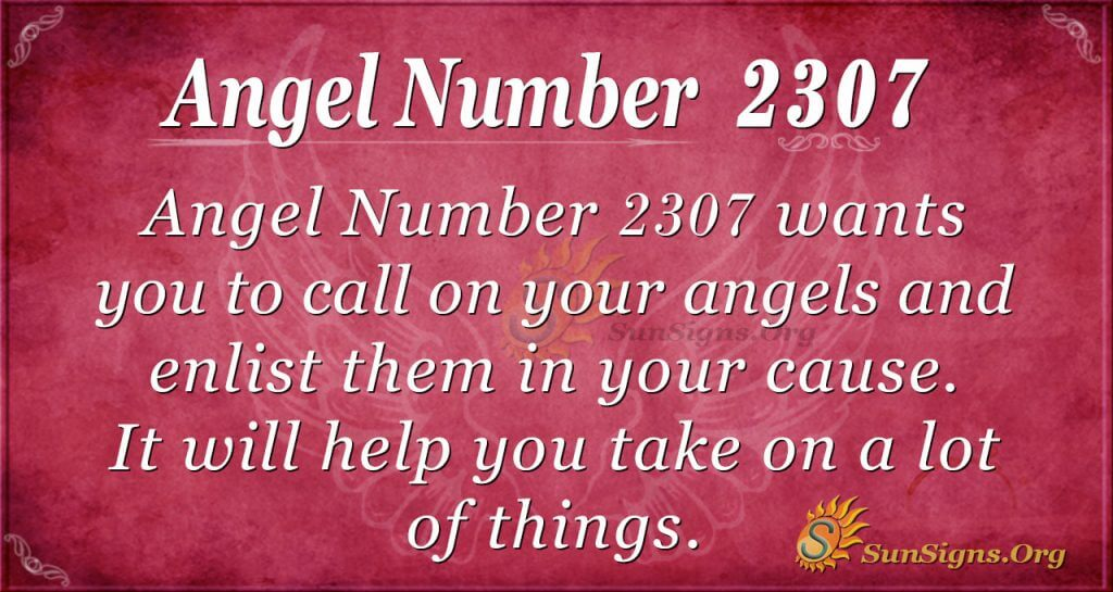 Angel number2307